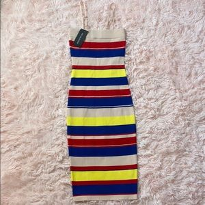 Spaghetti Strap Tube Dress